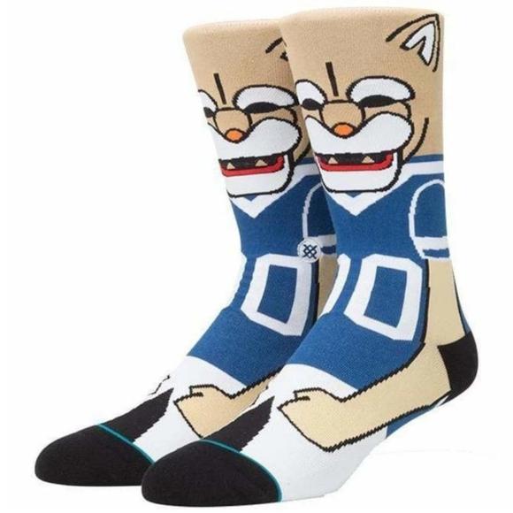🔵🆕️ Stance College Mascot BYU Cosmo Crew